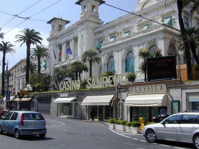 Il Casinò di Sanremo