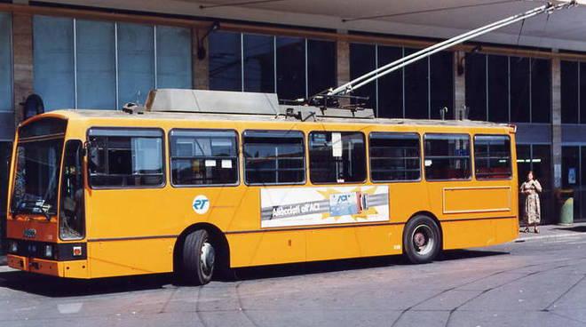 Un autobus della Rivera Trasporti