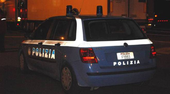 Fermo autotrasporti tir Ventimiglia Polizia notte