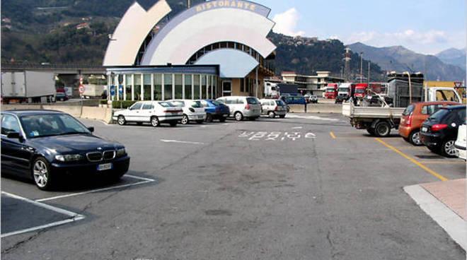 L'autoporto di Ventimiglia