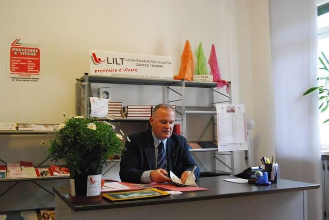 Claudio Battaglia presidente della Lilt