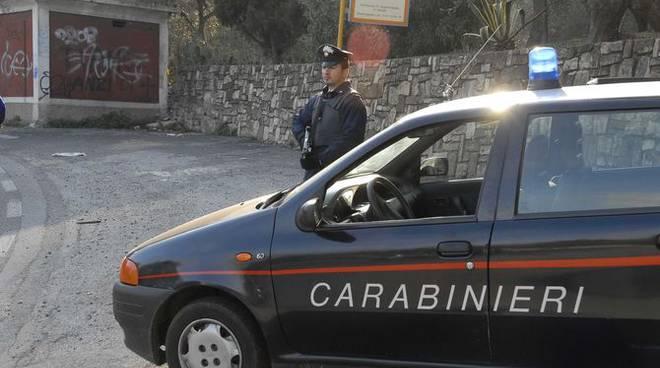 Carabinieri Diano Marina pattuglia