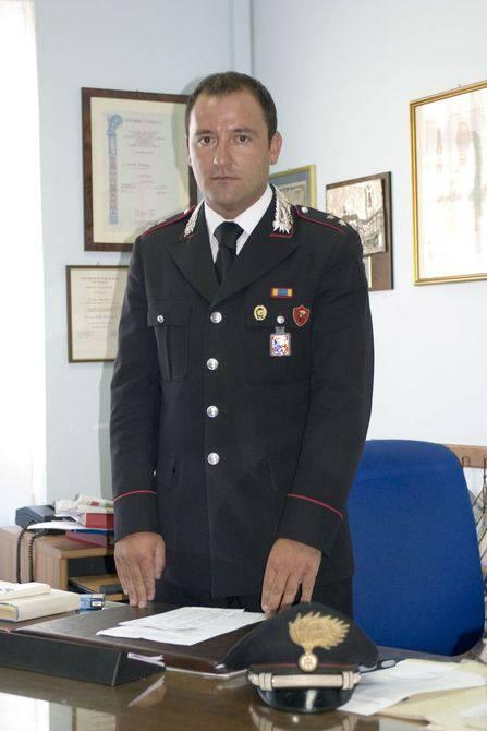 Il capitano Sergio Pizziconi