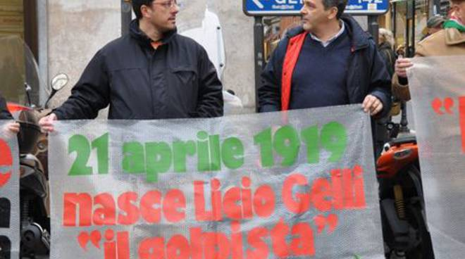 Licio Gelli Sanremo
