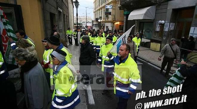 sciopero postini sanremo