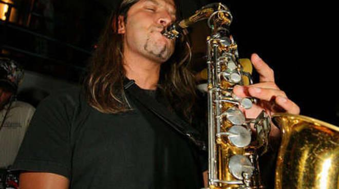 Gabriele Zeppegno live sax Puerto Escondido