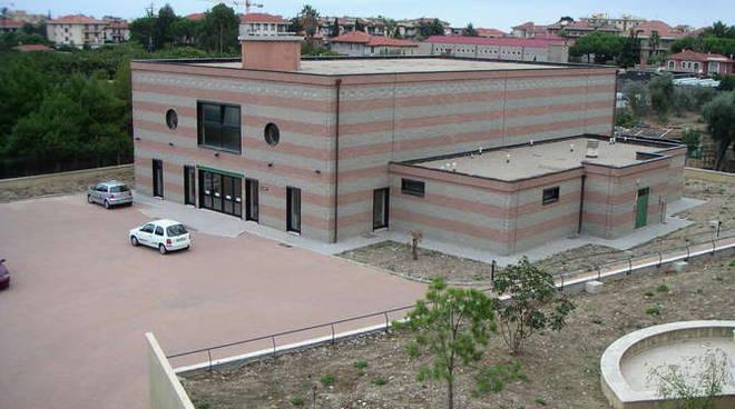 palestra  Istituto Montale Bordighera