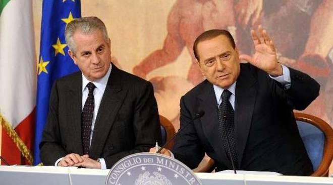 Claudio Scajola Silvio Berlusconi