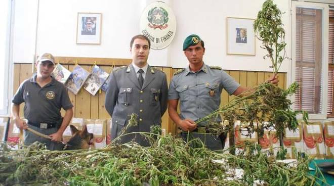 Sequestro marijuana Ventimiglia