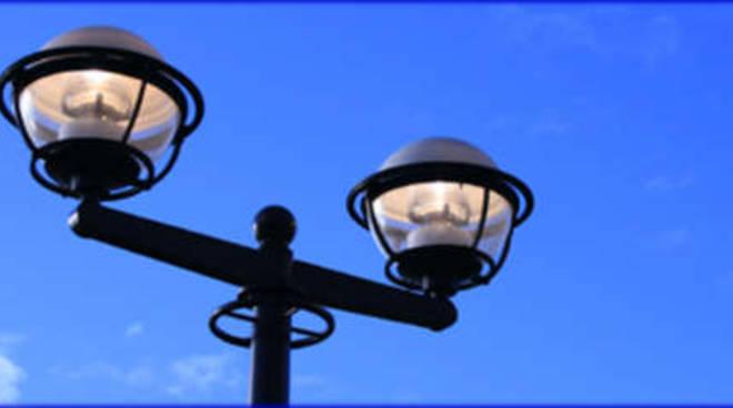 Illuminazione pubblica lampione generica