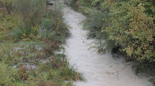Maltempo 1 novembre 2010 torrenti fiumi Roja