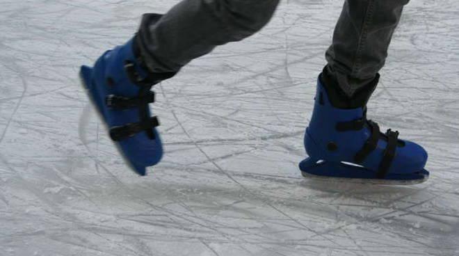 inaugurazione pista pattinaggio ghiaccio sanremo