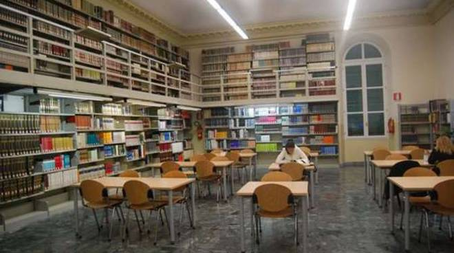 La biblioteca civica di Sanremo