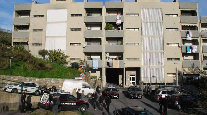 Operazione antidroga case popolari riva ligure
