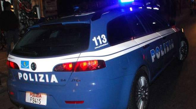 Polizia stradale notturna generica