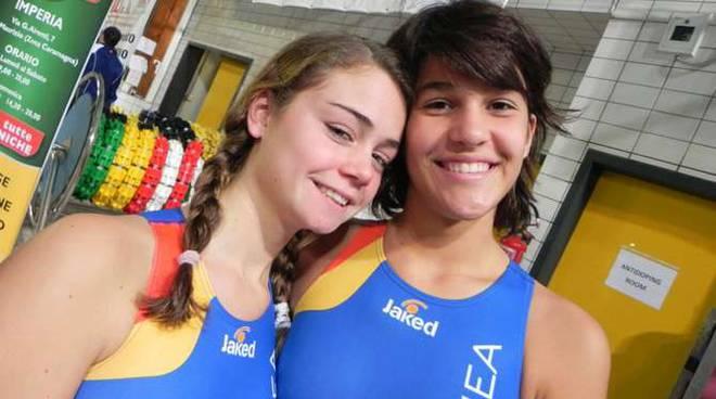 Sofia Lengueglia e Carla Carrega