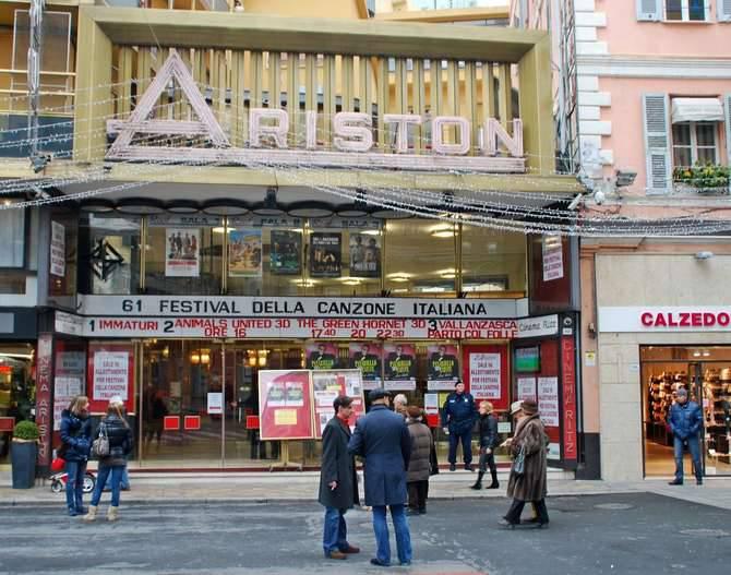 Teatro Ariston 2011 Festival Sanremo generica