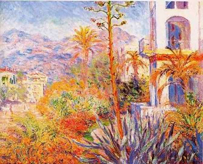 dipinto claude monet bordighera