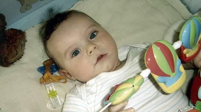 Il piccolo Gabriel Petersone