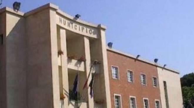 Il municipio di Ventimiglia