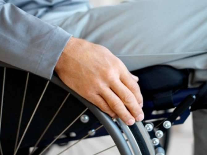 Carrozzina disabile