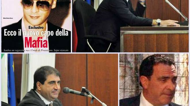 Dall'alto: la copertina incriminata dell'Espresso; Massimo Paravisi; Antonio Tartaro e Giovanni Ingrasciotta