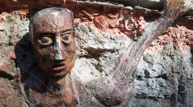 Nek chand il giardino di pietra chandigarh india art brut