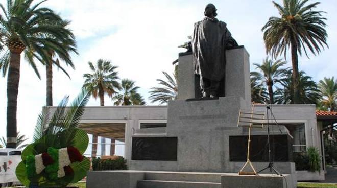 inaugurazione monumento garibaldi restaurato sanremo 28 ottobre 2011