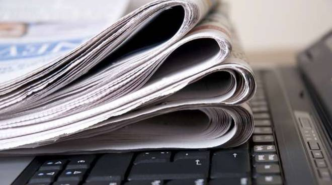 Giornali internet quotidiano on line generica