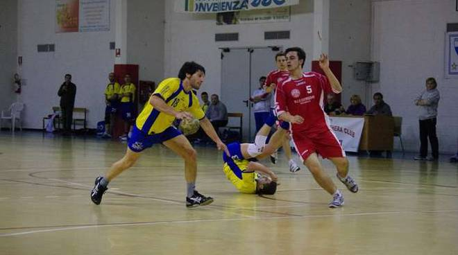 Damiano Rossi in azione