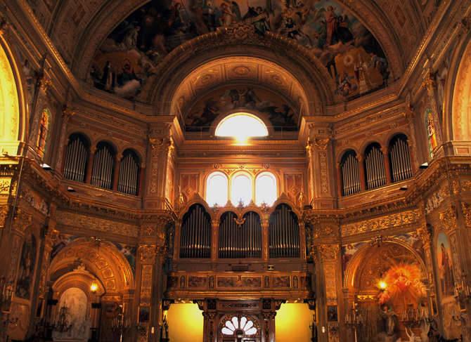 organo basilica del sacro cuore bussana sanremo 2011 santuario