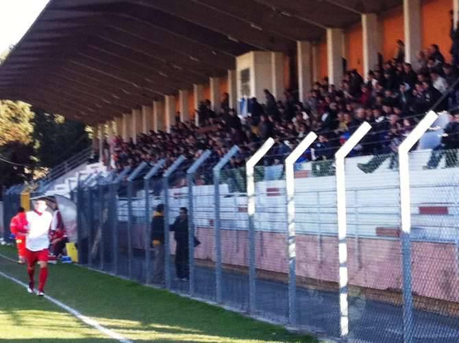 stadio ciccione imperia spalti pubblico tribuna triangolare pro cuneo siena calcio dicembre 2011