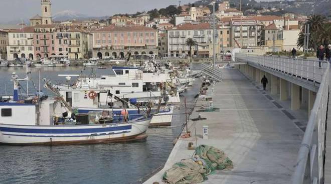 inaugurazione porto peschereccio oneglia burlando