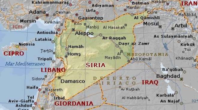 Cartina Politica Del Libano.Siria Una Crisi Senza Fine L Aiuto Della Caritas Riviera24