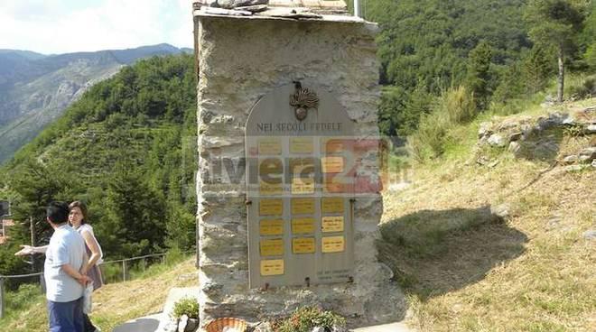 commemorazione carabinieri valle argentina