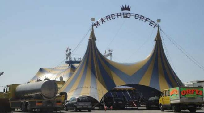 messa circo orfei sanremo