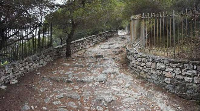 via iulia augusta antica aurelia giardini hambury ventimiglia