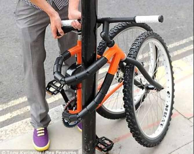Ladro biciclette generica