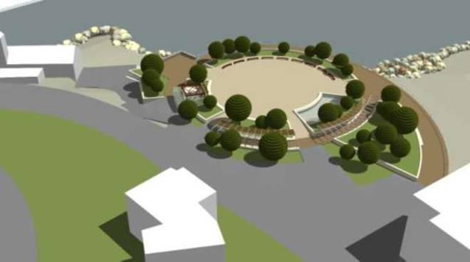rotonda Sant'Ampelio bordighera progetto