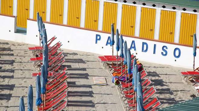 Sciopero ombrelloni spiegge balneari Sanremo