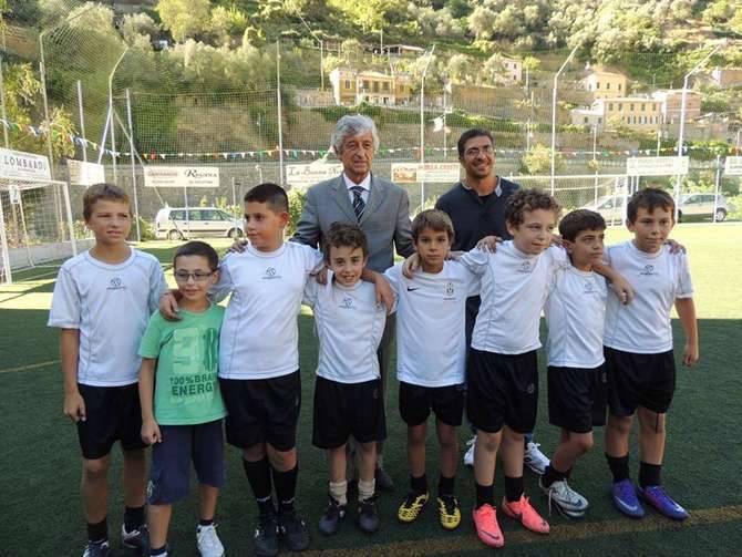... rivera a badalucco calcio gianni settembre 2012 bambini sindaco ...