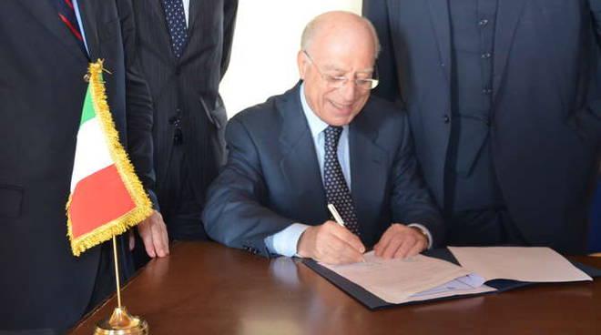Fausto Pocar, presidente dell'Istituto Inteernazionale di diritto Umanitario