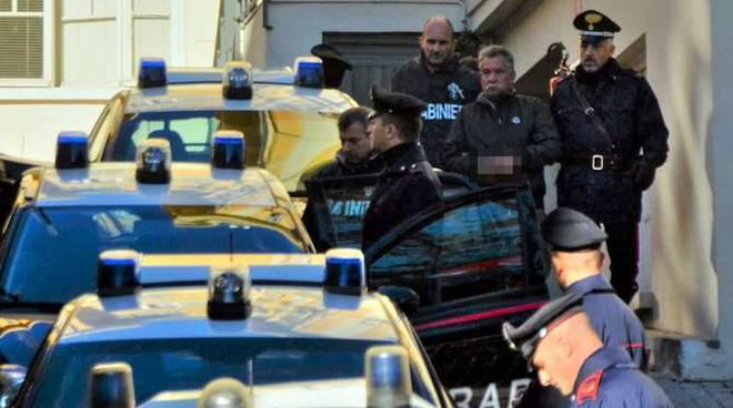 L'arresto di Vincenzo Marcianò