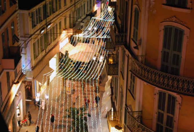 Sanremo luminarie natalizie
