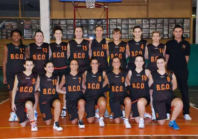 Il Basket Club Ospedaletti serie B femminile