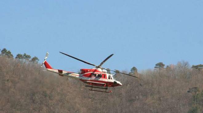 Elisoccorso elicottero Ceriana montagna collina generica