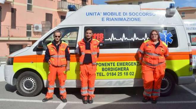 I volontari di Ponente Emergenza
