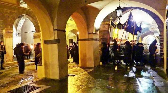 pieve di teco processione del venerdi santo 2013