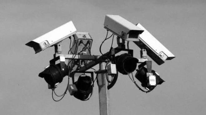 Telecamera circuito videosorveglianza generica