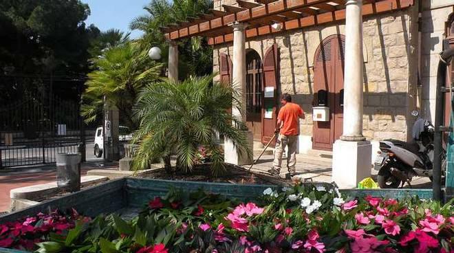 Abbellimento floreale villa Ormond